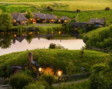 Hobbiton in New Zealand By Siri..