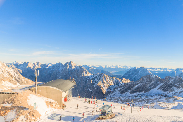 Top of Germany 'Zugspitze'
